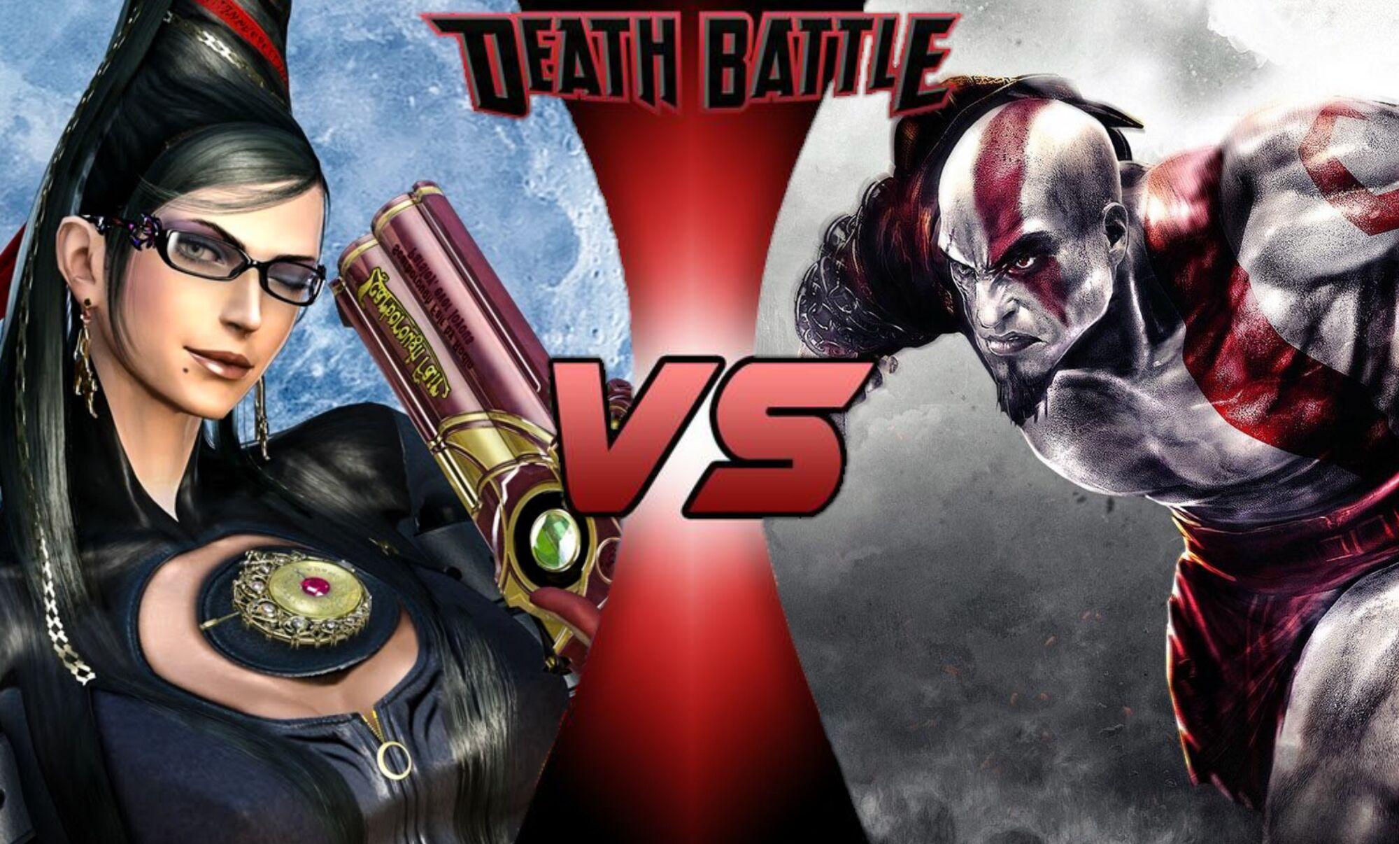 Kratos Vs Bayonetta Death Battle Fanon Wiki Fandom Powered