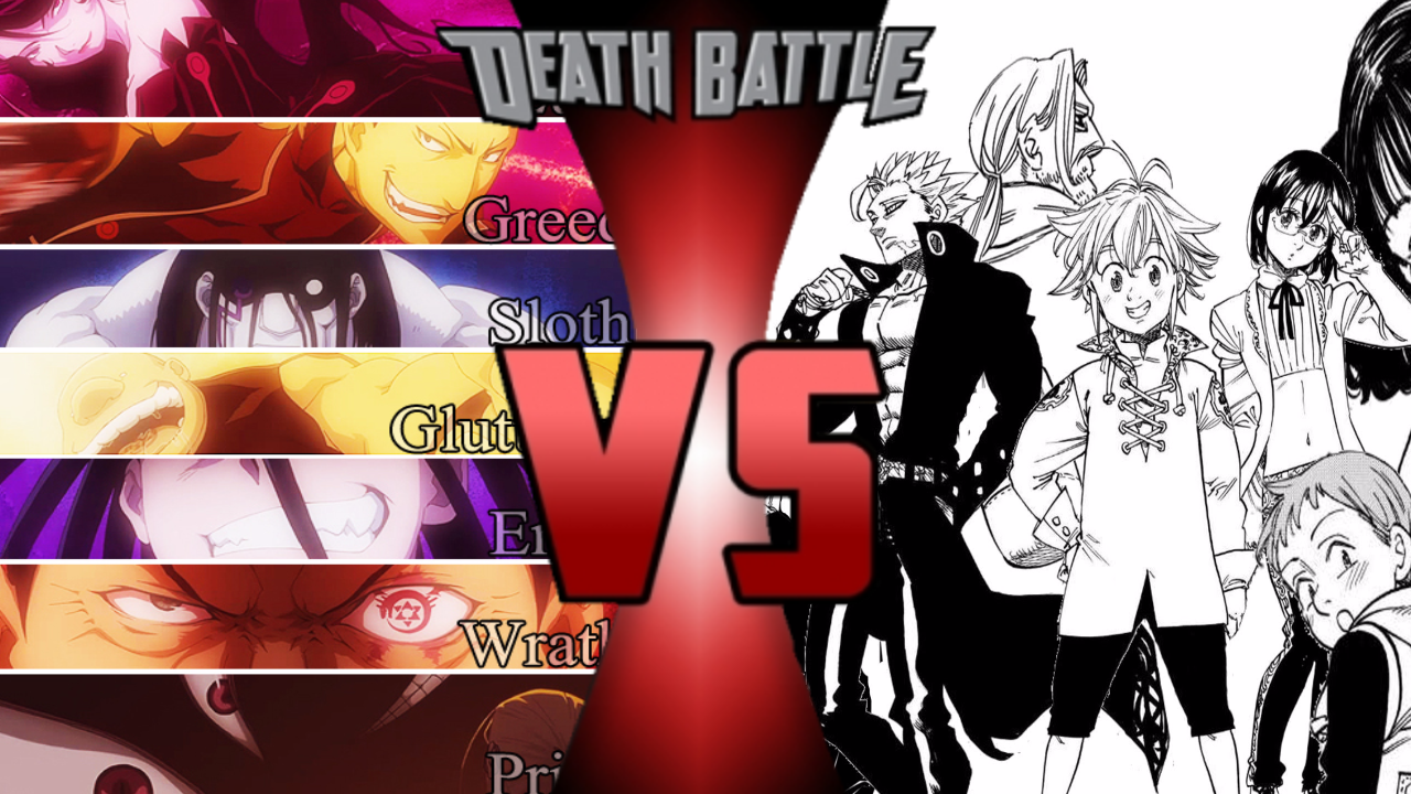 fullmetal alchemist 7 deadly sins deaths