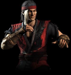 Liu Kang as seen in Mortal Kombat X