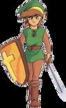 The Legend of Zelda - Link as he appears in Zelda II The Adventures of Link
