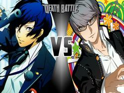 Minato Arisato vs Yu Narukami