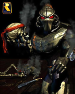 Killer Instinct - Fulgore holding Spinal's Skull