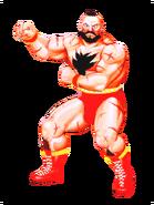 Street Fighter - Zangief as he appears in Street Fighter II