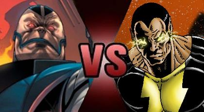 Apocalypse vs Black Adam