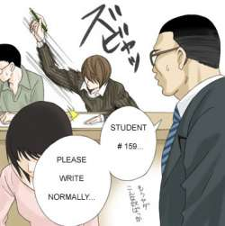 File:Cit death note - light dramatic writing style taken to its natural conclusion.jpg