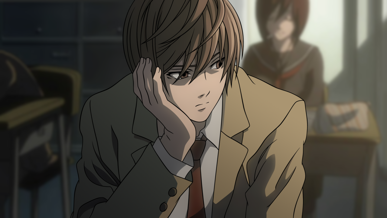 Image result for Death Note Light Yagami