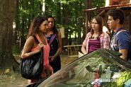 Drew & Bianca Talking & Marisol & Katie Watching