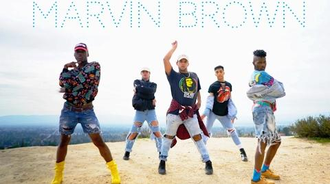 Major Lazor - Run up feat Nicki Minaj & PartyNextDoor (Marvin Brown Choreography) @ordinarybrown