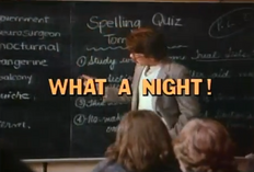 What a Night! - Title Card