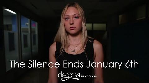 The Silence Ends January 6th - Degrassi Next Class Season 3