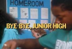 Bye-Bye, Junior High - Title Card