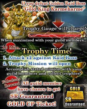 Ocean Grail Trophy Time