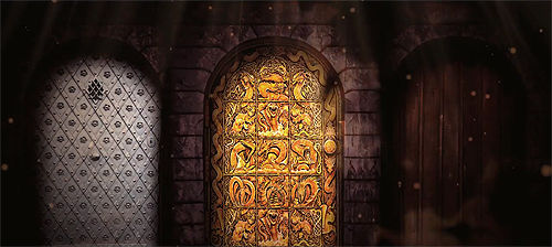 ... doors (Gold Silver and Wood) that leads to different locations outside of Weld so now the Warden is volunteering people to enter these enchanted doors ... & The Golden Door copy1 Pezcame.Com