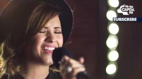 Demi Lovato - Give Your Heart A Break (Capital FM Session)