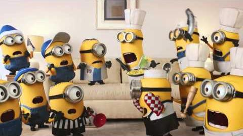 Minions Favorite Show • XFINITY X1 Voice Remote tv commercial ad 2015 HD • advert