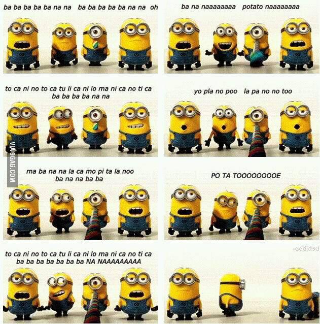 Image - Despicable Me 2 Banana Potato song.jpg ...  Despicable