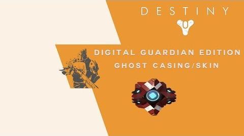 Destiny Digital Guardian Edition Ghost Casing Skin-3