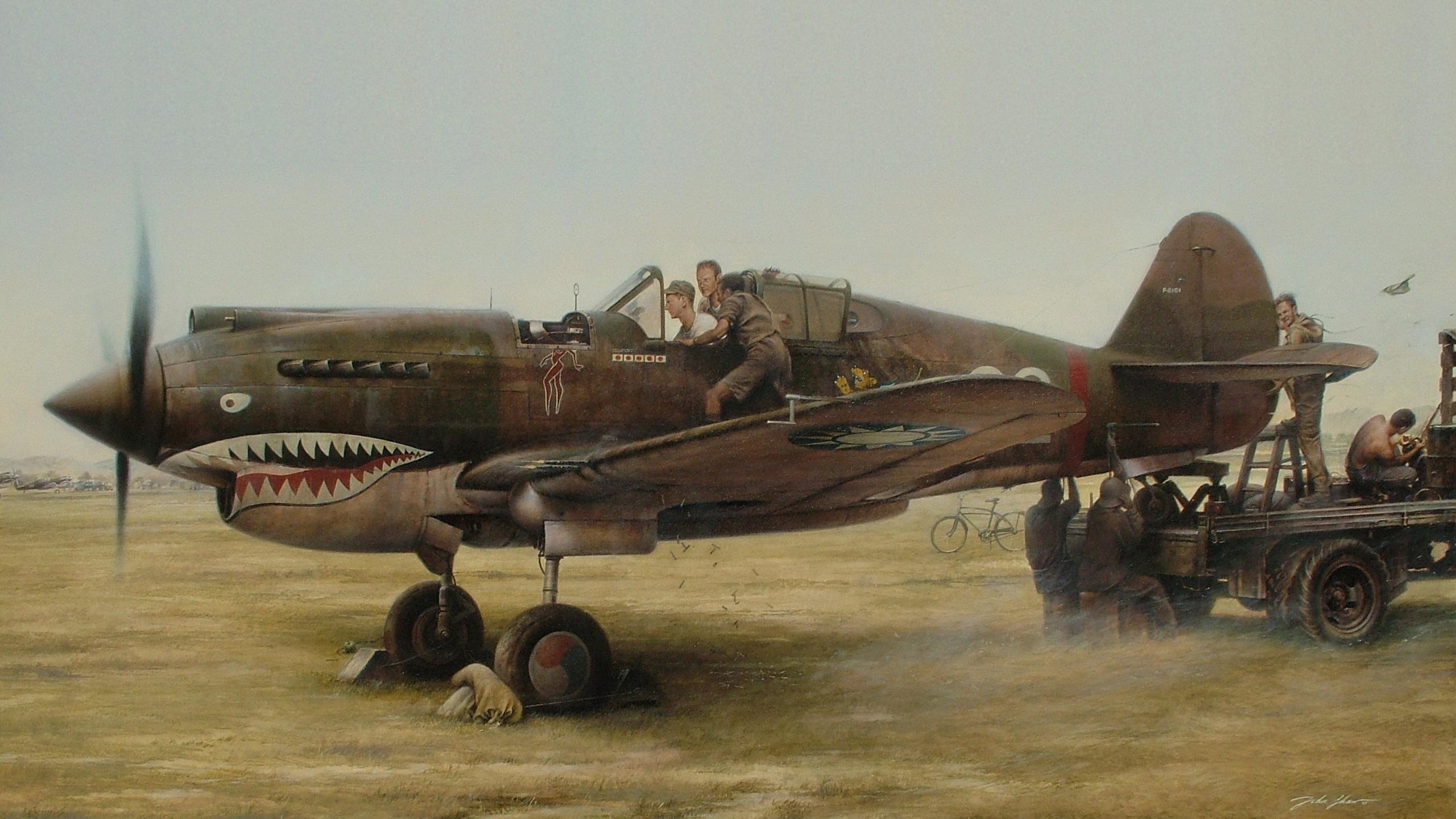 Full resolution  P 40 Warhawk