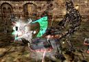DMC2 - Lucia battles Agonofinis