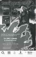 DMC3 mobile ad