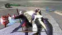 Nero finisher-strike vs credo