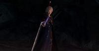 Nero wielding Yamato