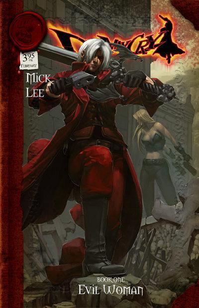devil may cry comic book