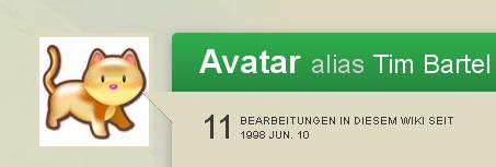 Datei:Avatarsbenutzerprofilangemeldetseit1998(Screenshot).png