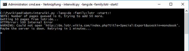 Datei:Screenshot Pywikibot Weas-El 01.png