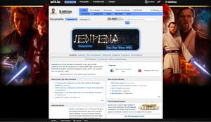 Die Hauptseite der Jedipedia