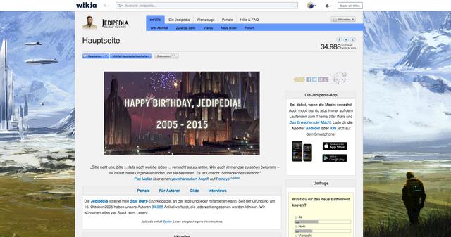 Datei:Jedipedia Hauptseite 2015.png