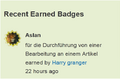 Recent earned badges.png