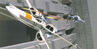 McQuarrie - X Wing Tie Fighter
