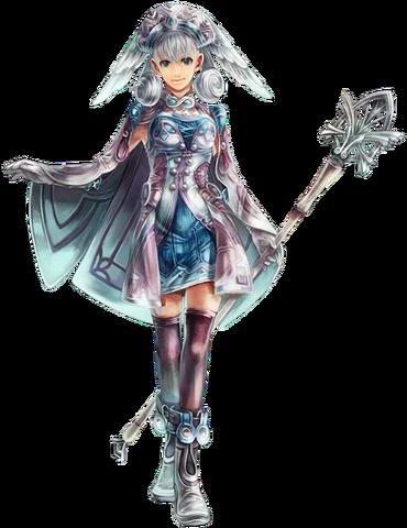 Datei:Xenoblade Wiki Xenoblade Chronicles Artwork Melia.png