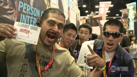 Behind the Scenes Comic-Con 2012