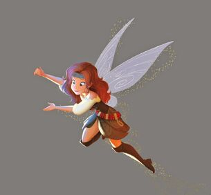 Zarina-disney fairy book