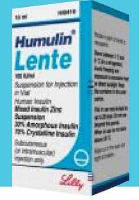 Humulin Lente UK