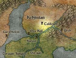 Kehjistan map