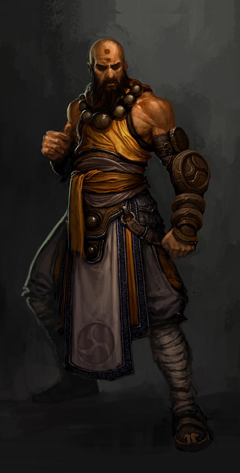 A male Monk