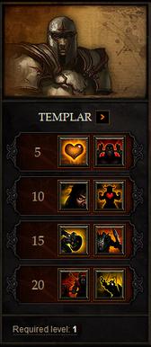 Diablo wiki templar shot