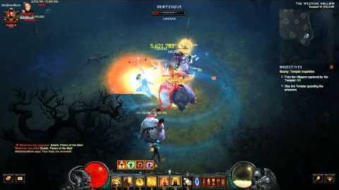 Diablo 3 PTR 2.2.0 new bounty Templar Inquisition