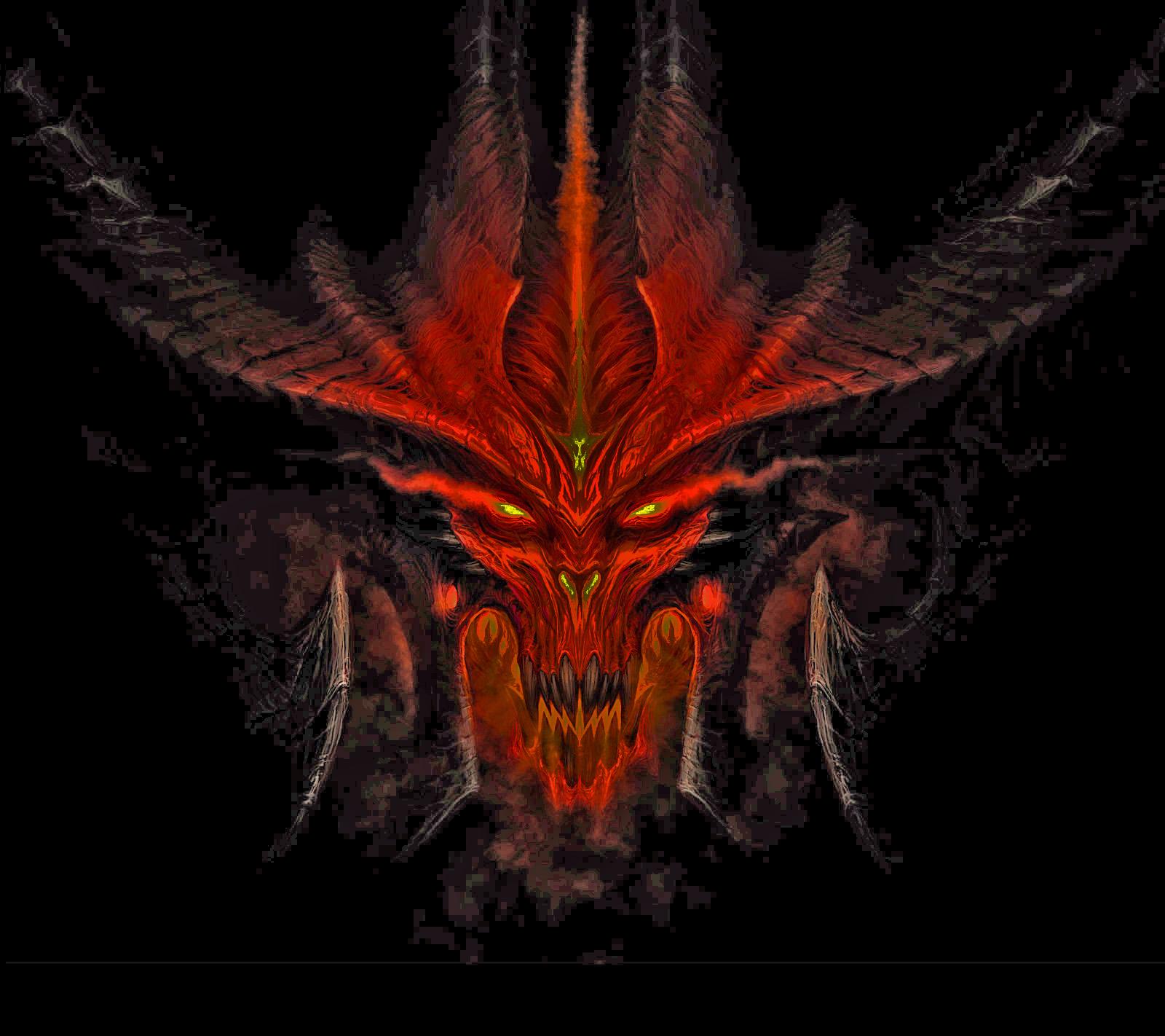 Diablo 3 Wallpaper 1920x1080: Image - Diablo Head1.jpg