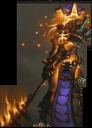 Triune Leader Death Guard Concept