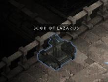 BOOK OF LAZARUS