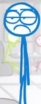 DFTM- Blue bored face
