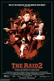 DHS- The Raid 2 movie poster expanded