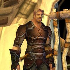 Aredian in seiner alten Rüstung
