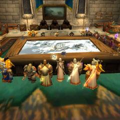 Zusammenkunft in der Burg