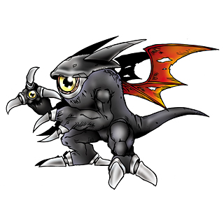 Ghoulmon (Black) b