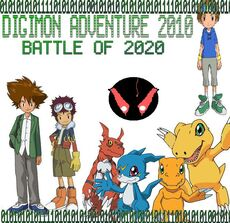 Fan-Digimon Adventure 2010 Battle of 2020 Poster